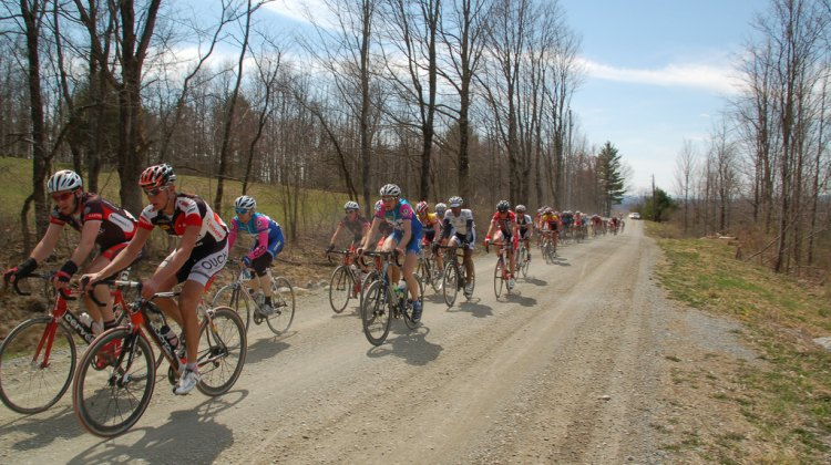 Rocking the dirt section in Battenkill. Photo via flickr by talldoofyirish