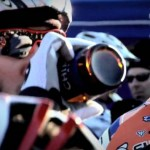 Kabush big-sips a Chimay at the start line