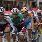Danny Summerhill more than holding his own in the Gila crit. Via flickr by Trillion photos.