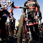 Dan Timmerman on the start line of Nationals in Bend © Larry Rosa