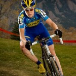 Georgia Gould showed great form, looks ready to rock the cyclocross bike © Rob O'Dea