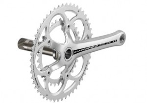 Campagnolo's CX11 Aluminum Crankset. Photo courtesy Campagnolo