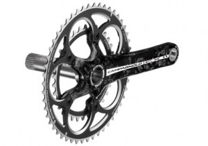 Campagnolo's CX11 Carbon Crankset. Photo courtesy Campagnolo