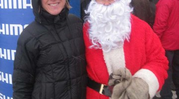 Sue Butler's getting ready for the busy holiday season of racing in Belgium. Photo courtesy