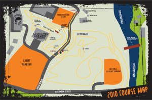 2010 USAC Cyclocross Nats Course map