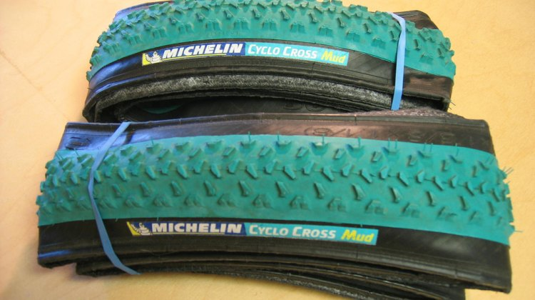 Enter the raffle for these Michelin Mud tires and help send Bjorn Fox to Worlds! © Steve Litvin
