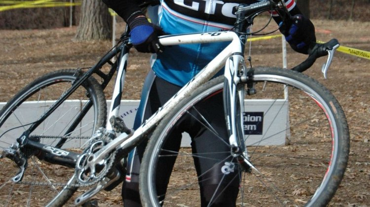Racers braved the cold in Georgia's Rome Winter 'Cross Series. © Trish Albert