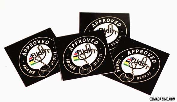 FUCI Frame Approval Stickers from Hans Keller