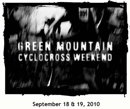 Green Mountain Cylcocross flyer