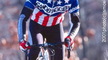 Mark Abramson, former USA Cycling President of the Board, and Sandbagger National Champion. © Jonathan S. McElvery