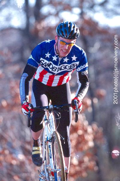 Sandbagger National Champion Mark Abramson, former USA Cycling President of the Board. © Jonathan S. McElvery