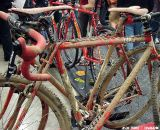 Richard Sachs is a mainstay at NAHBS and cyclocross races. He showed that you