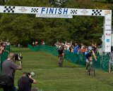 Riders coast through the finish at Ellison Park. Photo Courtesy Full Moon Vista Productions