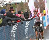 Dan Norton wins the 60+ title again in dominant fashion. Cyclocross Nationals Day 2 © Janet Hill