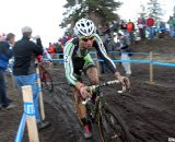 Powers had the form, but a crash kept him from the title. 2010 USA Cycling Cyclocross National Championships. © Cyclocross Magazine