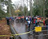 Lots of riders enjoyed a muddy day in Seattle. © Kenton Berg