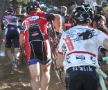 Series leader Josh Snead and Don Myrah. © Cyclocross Magazine