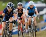 Laura Van Gilder looked strong on the fast course, but suffered a late flat that sent her back to second place. © Chris Milliman