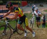 Sven Nys showed much better form than last week and contested the race until a flat. by Dan Seaton