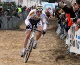 World Champion Zdenek Stybar carves through the sand in Oostmalle. © Bart Hazen