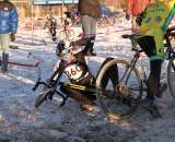 Crashes, Day 1, Cyclocross National Championships, Singlespeed race. © Janet Hill