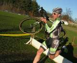 Jeremy Powers, shown here in control at Baystate Cyclocross, had an impressive Tour of California © Paul Weiss
