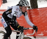 Sanne Cant keeping it upright to finish fifth. © Bart Hazen