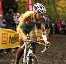 Kevin Pauwels, shown here in Gavere, sprinted his way to the green points jersey in Flèche du Sud © Dan Seaton