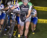 McConneloug at the front of the CrossVegas field earlier this year. © Larry Rosa Photography