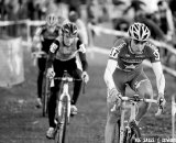 Summerhill and McDonald were locked in a heated battle for the U23 win ©Joe Sales
