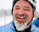 Mike Clark saved some ice for post-race ©Dan Socie