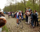 The Paris Roubaix cobbled classic: The Arenberg forest. photo: foto! on flickr