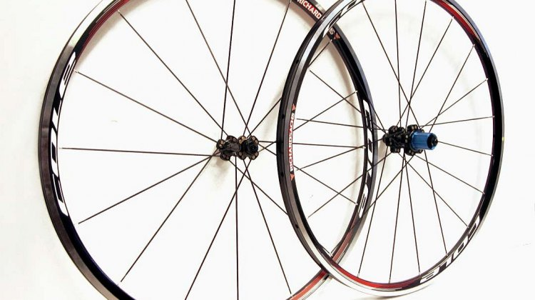 Cole cyclocross wheels, 23mm alloy tubular wheelset