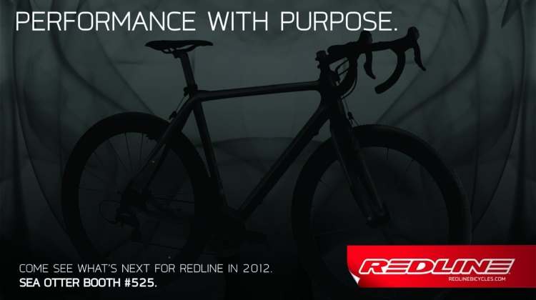 Redline's ad hints at their new carbon cyclocross offering