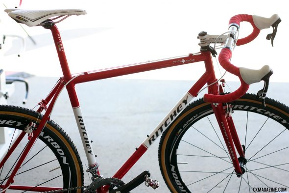 The Ritchey Swiss Cross is back for the 2012 cyclocross season.  Cyclocross Magazine