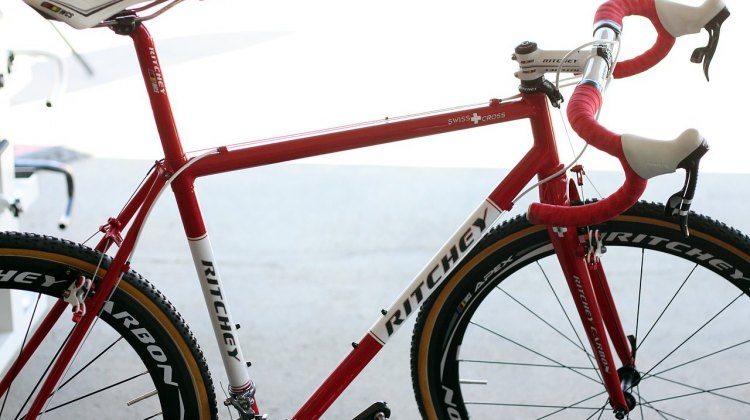 The Ritchey Swiss Cross is back for the 2012 cyclocross season. © Cyclocross Magazine