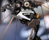Shimano XTR Shadow Plus rear derailleur gets an on/off switch to prevent chain slap © Cyclocross Magazine