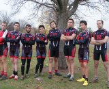 Vareschi is the team director for the Rutgers University Cycling Team (pictured 2nd from left). © Rutgers University Cycling Team