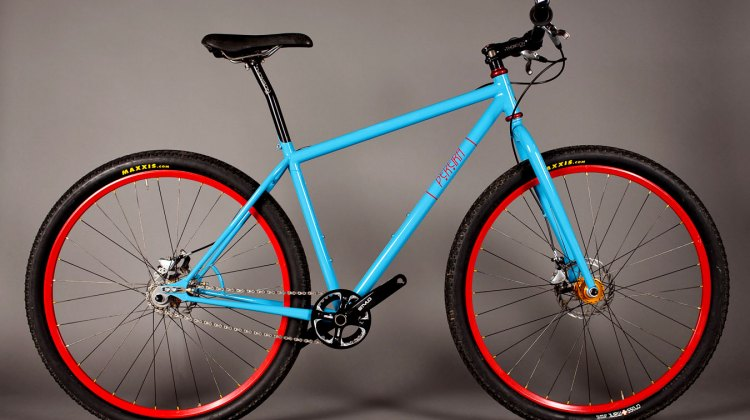 Help out a cancer patient, win a Tony Pereira singlespeed 29er (you can call it a Monster Cross if you want)