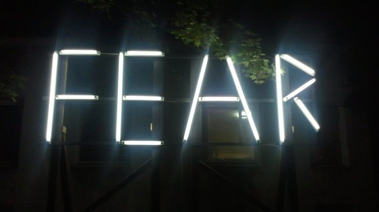 Fear sign © Dryhead via Flickr