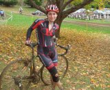 Molly at Highland Park Cyclocross 2009 © David Hurford