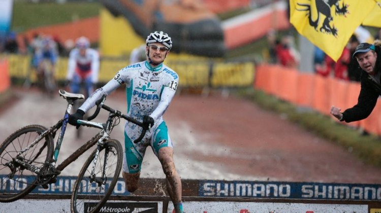 Bart Wellens is coming to race cyclocross in the U.S. - with StarCrossed and Rad Racing GP. (Roubaix World Cup file photo) © Joe Sales