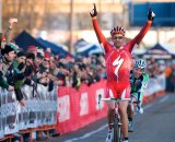 Todd Wells (Specialized) takes the win at the 2009 USGP in Portland. © Joe Sales