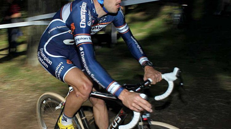 Here, Jones races at Bend. This week, he's moving up the rankings in the Amgen Tour of California.