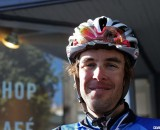 Chris Jones talks cyclocross and Tour of California at the Rapha Cycle Club in San Francisco. © Cyclocross Magazine