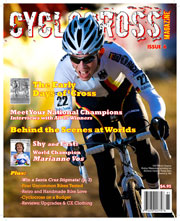 Philipp Walsleben, on Cyclocross Magazine Issue 6