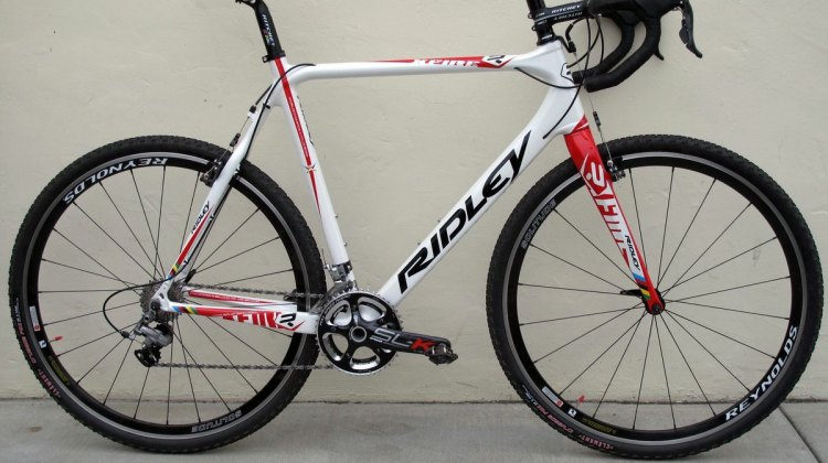 The new 2012 Ridley X-Fire PF30 Ultegra cyclocross bike. © Cyclocross Magazine