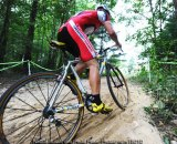 Wilichowski churns through the sand © Natalia Boltukhov | Pedal Power Photography
