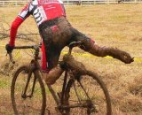 Our intrepid Texan/New Englander will have less mud this season. Blake Bedoya