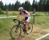Kathy Sherwin at Raleigh's Midsummer Night's Cyclocross
